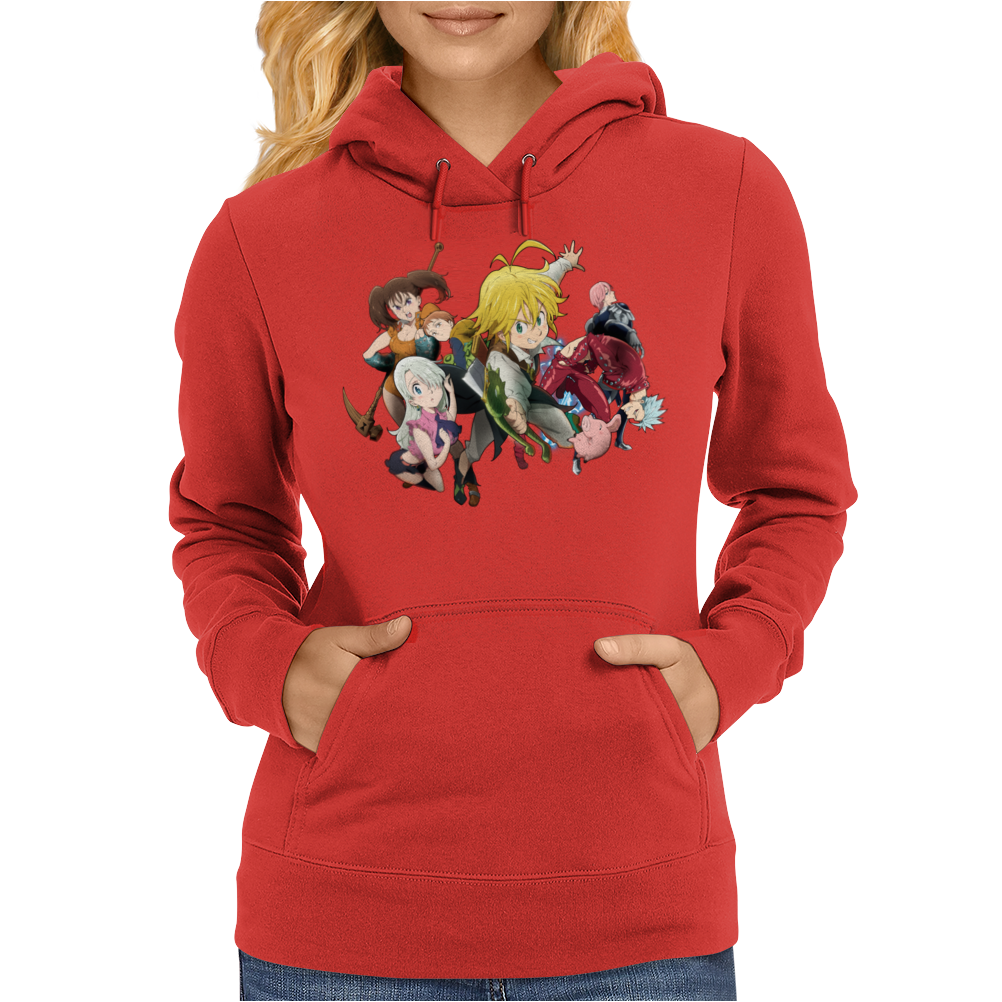 seven deadly sins Womens Hoodie
