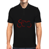 Seventies Race Motorcycle Mens Polo
