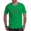 Seventies Race Motorcycle Mens T-Shirt