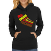 Sex Drugs Techno Womens Hoodie
