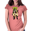 Sexy MOnster Womens Fitted T-Shirt