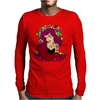 Sexy Princess Tattooed Mens Long Sleeve T-Shirt