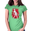 Sexy SilentHill Nurse Womens Fitted T-Shirt
