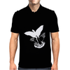 Shadowplay Bird Hands Mens Polo