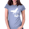 Shadowplay Bird Hands Womens Fitted T-Shirt