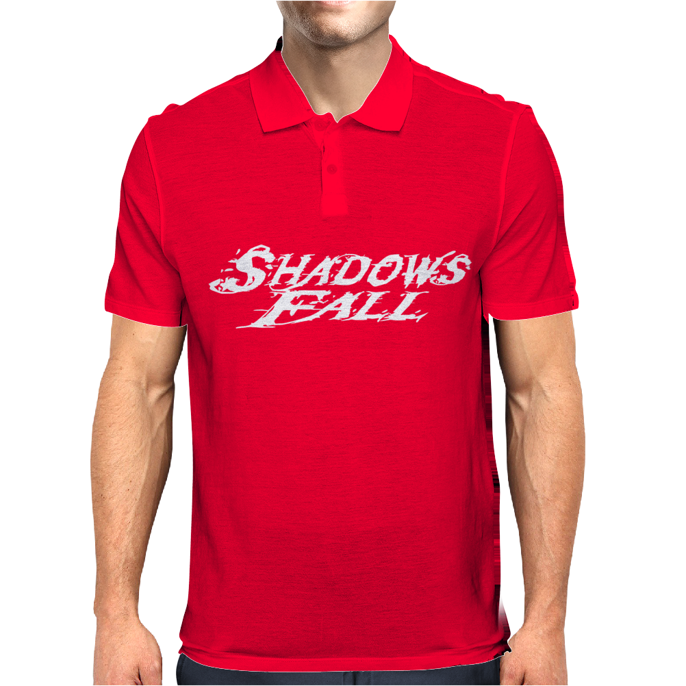 SHADOWS FALL Mens Polo