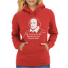 Shakespeare Beard Quote Much Ado About Nothing Womens Hoodie