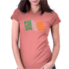 Shamrock Flag of Ireland Womens Fitted T-Shirt