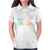 Shamrock Flag of Ireland Womens Polo