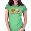 Share my love with you Womens Fitted T-Shirt