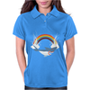SHARK and RAINBOW Womens Polo