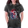 shark fighting Womens Polo