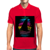 Shark In Colors Mens Polo