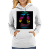 Shark In Colors Womens Hoodie