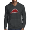 Shark Mouth Open Teeth Ocean Mens Hoodie