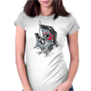 shark Womens Fitted T-Shirt