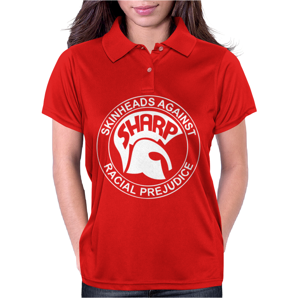 Sharp Skinhead Womens Polo