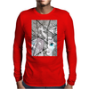 Shattered Heart Mens Long Sleeve T-Shirt