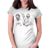 Shaun and Ed Womens Fitted T-Shirt