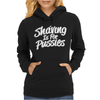 Shaving is For Pussies Womens Hoodie