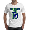 She Wants The D Seattle Mens T-Shirt