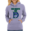 She Wants The D Seattle Womens Hoodie