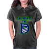 She Wants The D Seattle Womens Polo