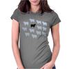 Sheeps Womens Fitted T-Shirt