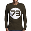 Sheldon Cooper 73 Mens Long Sleeve T-Shirt
