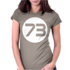 Sheldon Cooper 73 Womens Fitted T-Shirt