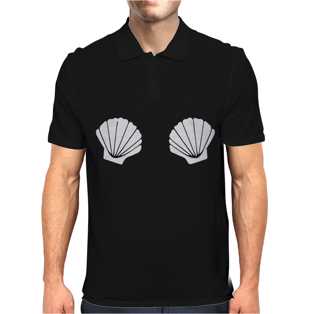 SHELL RINGER Mens Polo