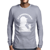 Sherlock Holmes Homage Elementary Icons Mens Long Sleeve T-Shirt