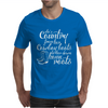 She's Country From Her Cowboy Boots Mens T-Shirt