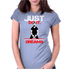 Shia Labeouf Just Do It! Womens Fitted T-Shirt