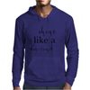 Shine like a diamond Mens Hoodie