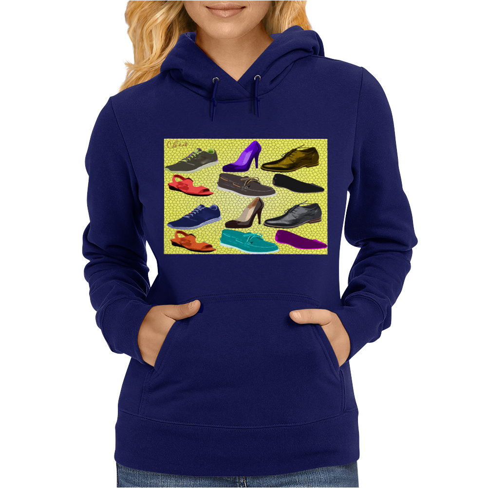 Shoes of Art Womens Hoodie