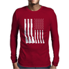 Shotgun Flag - Patriotic Mens Long Sleeve T-Shirt