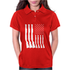 Shotgun Flag - Patriotic Womens Polo