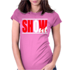 Show Out Juicy Womens Fitted T-Shirt