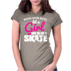 Show You How to Skate Womens Fitted T-Shirt
