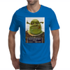 Shrek Mug Shot Funny Mens T-Shirt