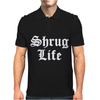 SHRUG LIFE Mens Polo