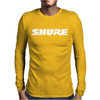 Shure Logo Mens Long Sleeve T-Shirt