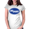 Sig Sauer Guns Oval Womens Fitted T-Shirt