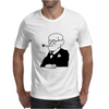 Sigmund Freud Psychology Cartoon Mens T-Shirt