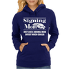 Signing Mom - Sign Language ASL Womens Hoodie