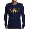 Silence Of The Lambs Butterfly Moth Mens Long Sleeve T-Shirt
