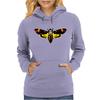 Silence Of The Lambs Butterfly Moth Womens Hoodie