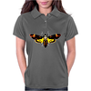 Silence Of The Lambs Butterfly Moth Womens Polo