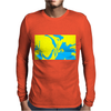 silhouette Mens Long Sleeve T-Shirt